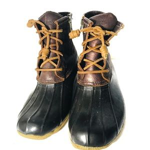 Sperry leather duck boots 7